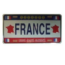 Plaque d'immatriculation France