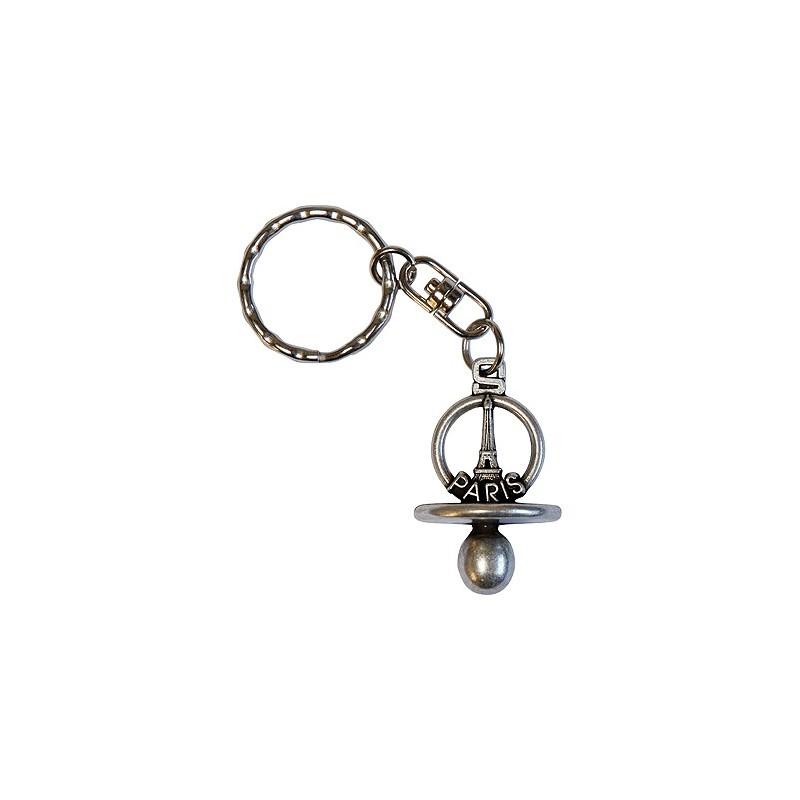Porte-clef Tétine Paris