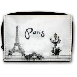 "Portefeuille Paris strass ""N/B"""