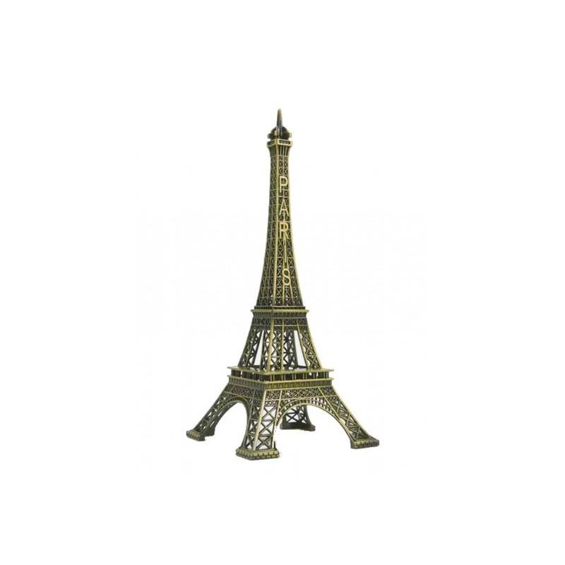 Tour Eiffel 18 cm métal Bronze