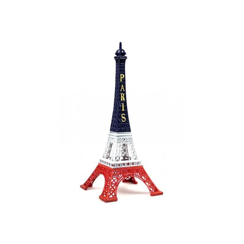 Tour Eiffel Bleu/Blanc/Rouge 22 cm