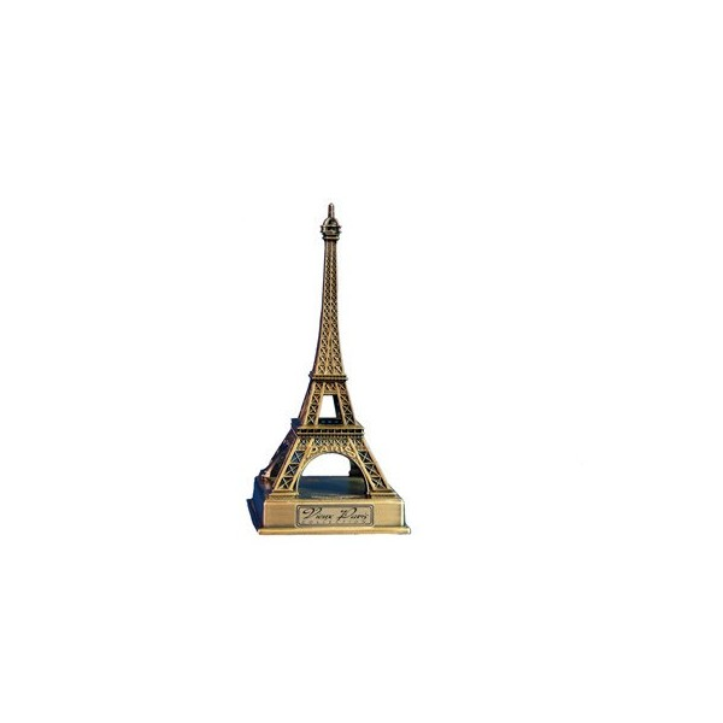 Tour Eiffel sur socle métal - 22 cm