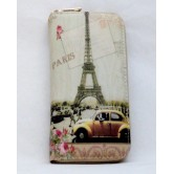 Portefeuille Tour Eiffel volkswagen coccinelle jaune