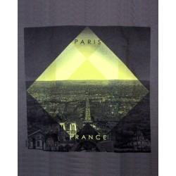 T-shirt Tour Eiffel Jaune