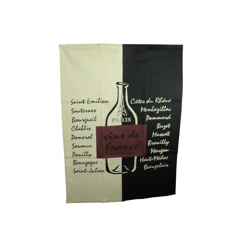 Torchon Vins de France