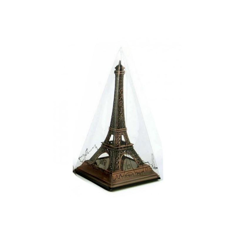 Tour Eiffel sur socle bronze - 9 cm