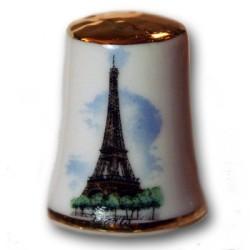 Dé Filet Or Tour Eiffel