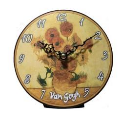 Horloge Les Tournesols