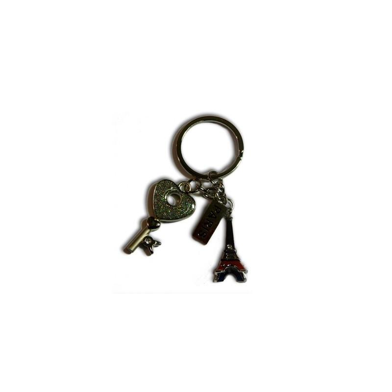 Porte-clé Clé-Coeur