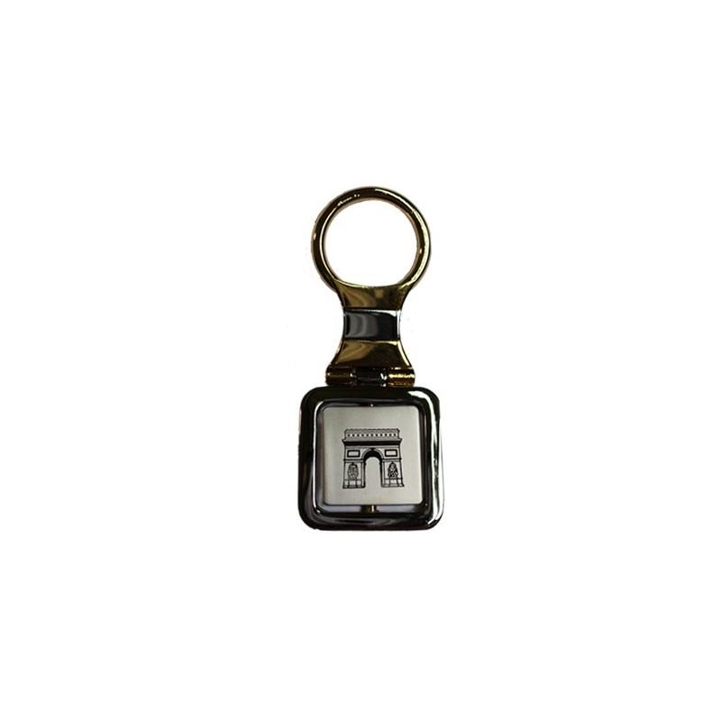 Porte clés Tour Eiffel bicolor